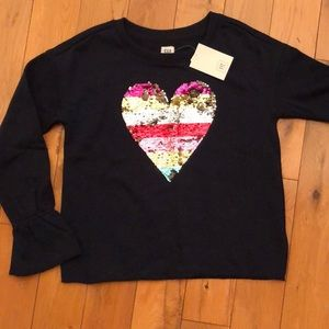 NWT! 🌈GAP KIDS🌈 flip sequin sweater